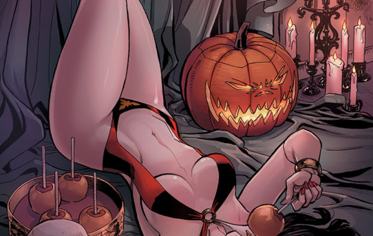 VAMPIRELLA HALLOWEEN SPECIAL Preview