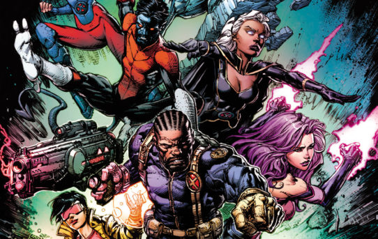 Marvel Reveals New UNCANNY X-MEN #1 Cover from David Finch!