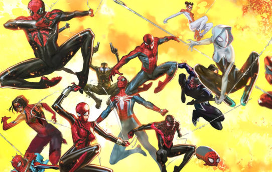 Go Behind The Scenes of SPIDER-GEDDON #1!