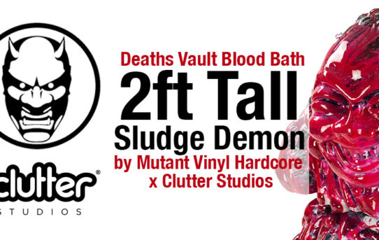 Mutant Vinyl Hardcore x Clutter Studios Sludge Demon
