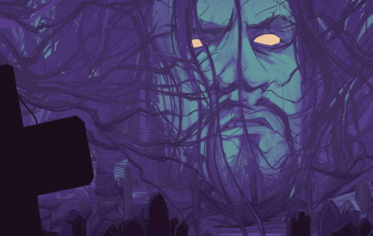 Your New Look At The WWE: UNDERTAKER Original Graphic Novel from BOOM! Studios