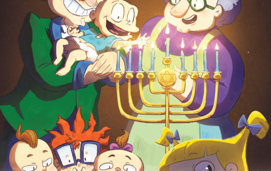 Your First Look at RUGRATS: C IS FOR CHANUKAH #1 from BOOM! Studios