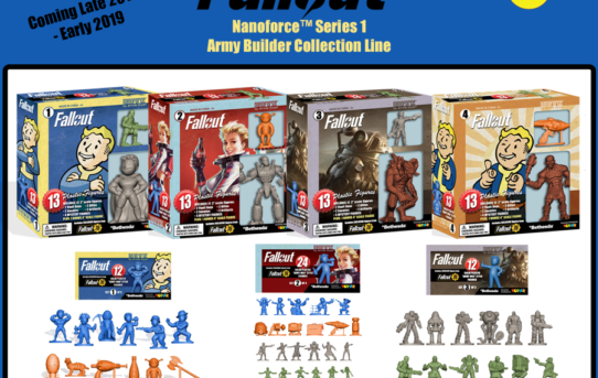 Toynk Toys' Highly Anticipated Fallout Product Line & Release Dates