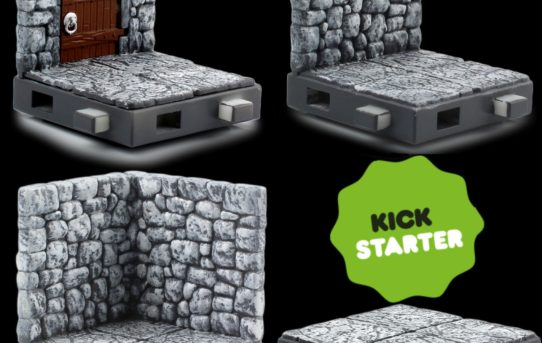 'Zfigs Dungeon Tiles,' Toy Vault's Affordable Tabletop Gaming Terrain, Now on Kickstarter