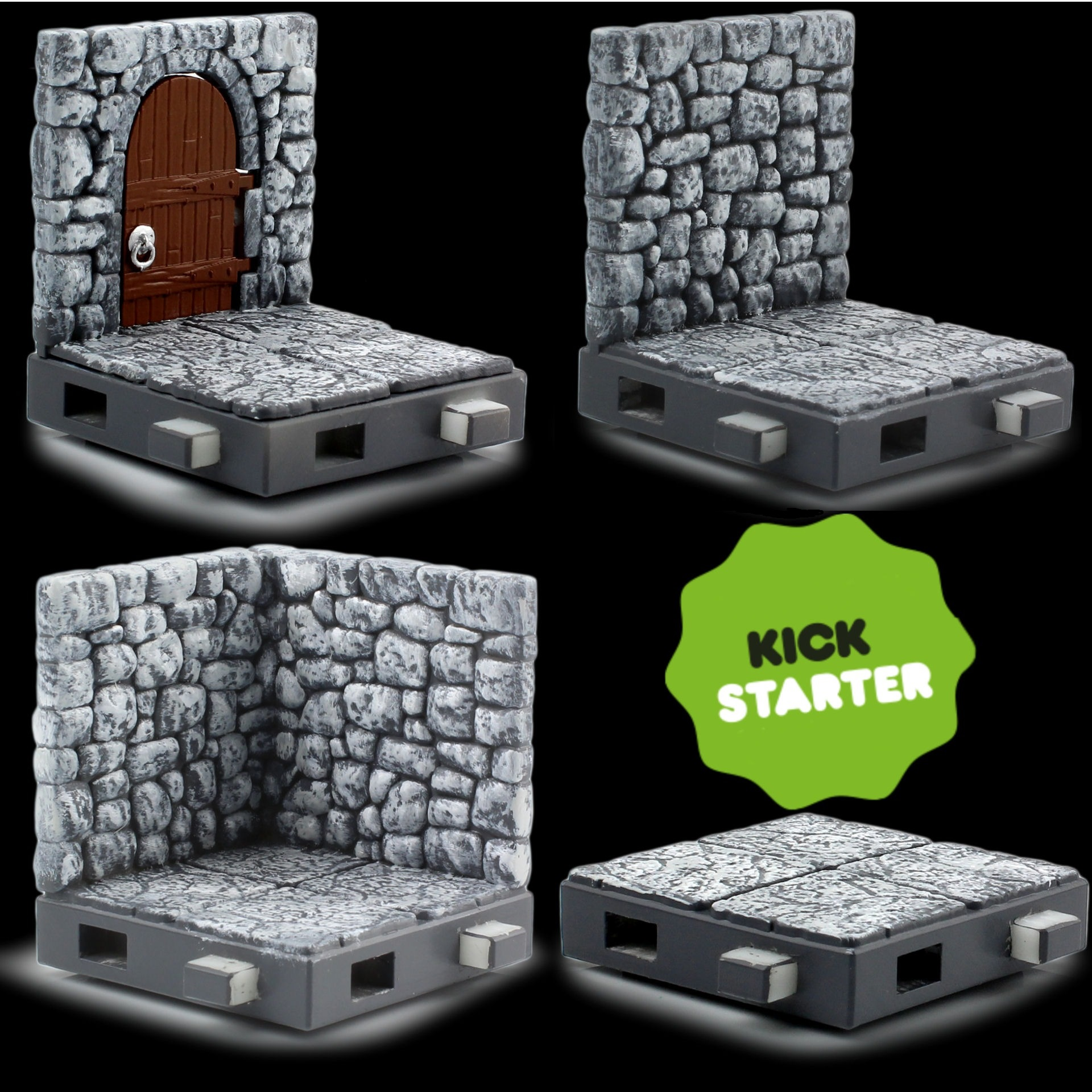Zfigs Dungeon Tiles,' Toy Vault's Affordable Tabletop Gaming