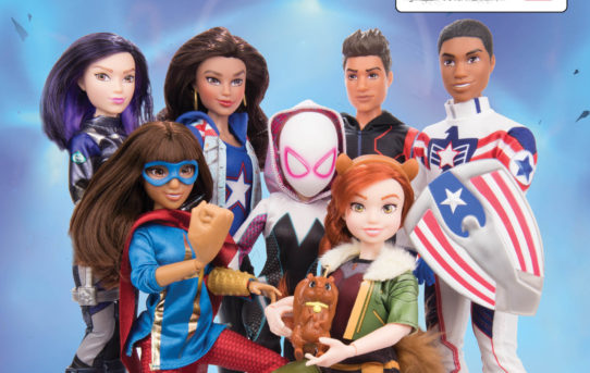 Introducing Marvel Rising Action Doll Homage Covers!