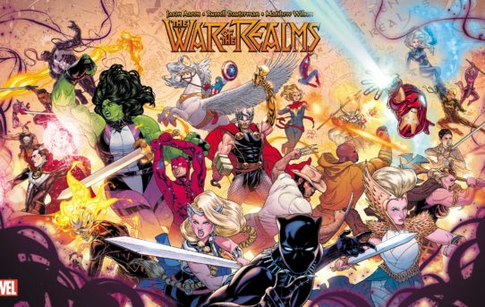 MARVEL'S WAR OF THE REALMS IS COMING…
