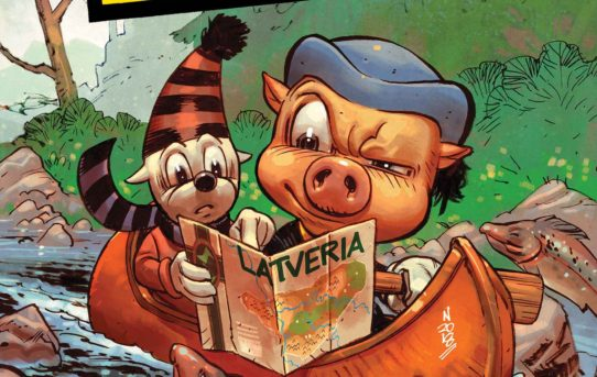 Ziggy Pig and Silly Seal Returns To Marvel!