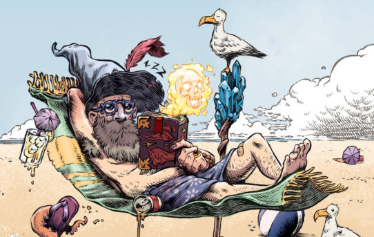 """Your First Look at Shaun Simon and Conor Nolan's """"WIZARD BEACH"""" from BOOM! Studios"""