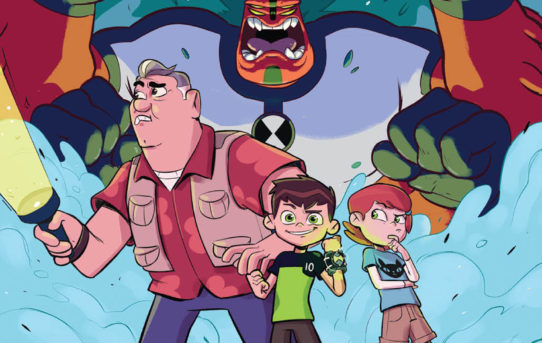 Your First Look at BEN 10™: THE TRUTH IS OUT THERE Original Graphic Novel