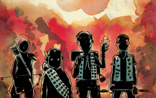 Your First Look at Matt Kindt & Tyler Jenkins' BLACK BADGE #5 from BOOM! Studios