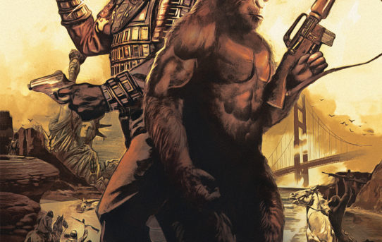 Your First Look at PLANET OF THE APES: THE SIMIAN AGE #1
