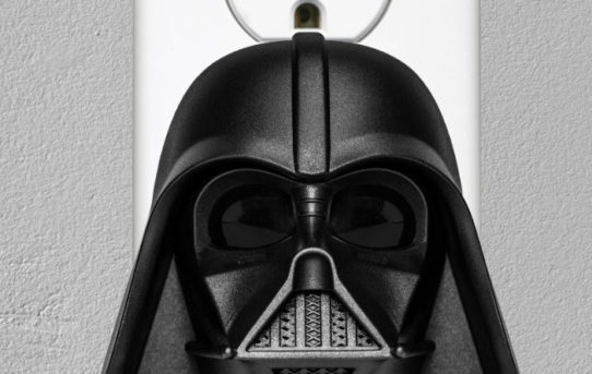STAR WARS™ DARTH VADER THEMED CLAPPER® WITH SOUND POWERS UP FOR THE HOLIDAYS