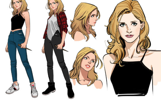 BOOM! Studios Reveals First Look at BUFFY THE VAMPIRE SLAYER by Dan Mora