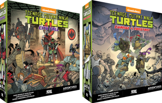 IDW GAMES ANNOUNCES TEENAGE MUTANT NINJA TURTLES ADVENTURES BOARD GAME