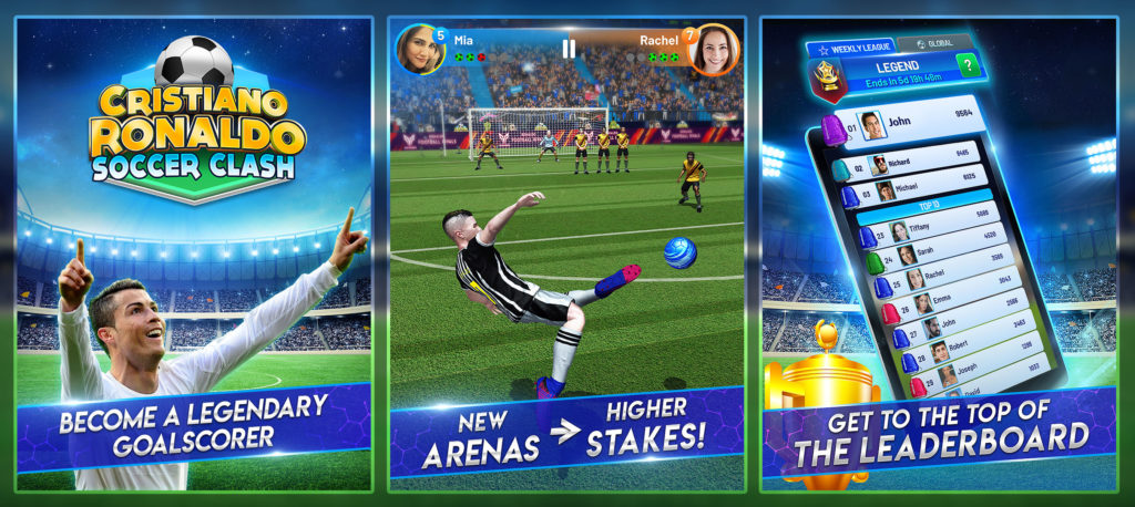 Play with Cristiano! Sports Star Launches Official Soccer Game