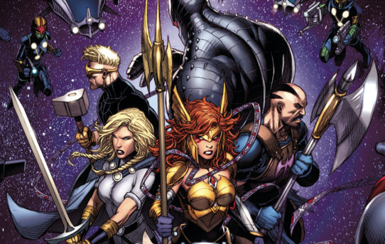 ASGARDIANS OF THE GALAXY #4 Preview