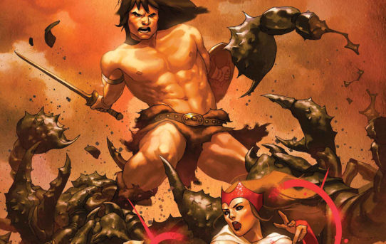Conan Enters The Marvel Universe in AVENGERS: NO ROAD HOME!