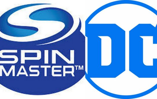 Spin Master Announces Three-Year Toy Licensing Agreement for DC