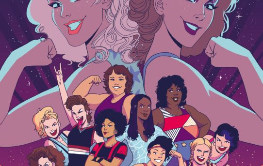 Netflix Original Series GLOW Dazzles as Upcoming IDW Comic Book