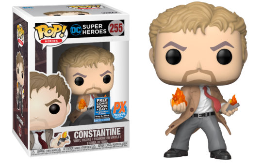 John Constantine Funko POP! and Symbiote Spider-Man Statue Headline Free Comic Book Day Exclusives