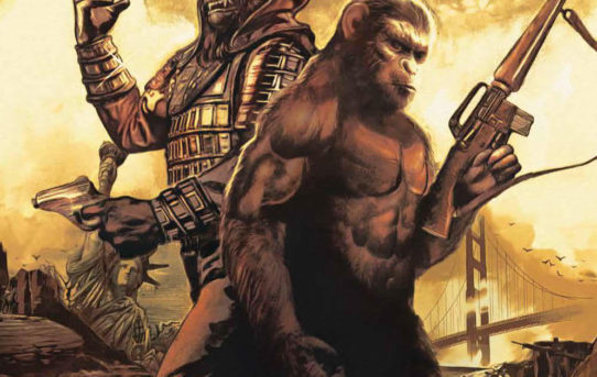 Planet Of The Apes: The Simian Age #1 Preview