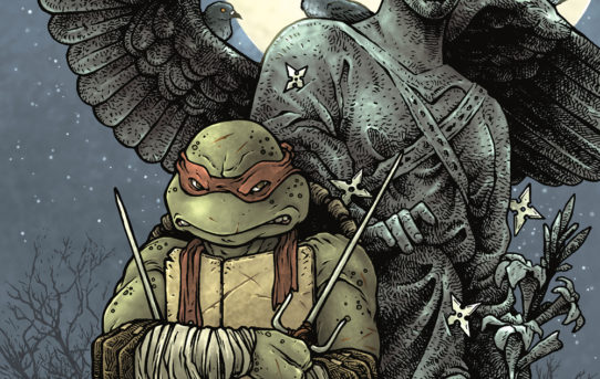 TMNT MACROSERIES #4 RAPHAEL Preview