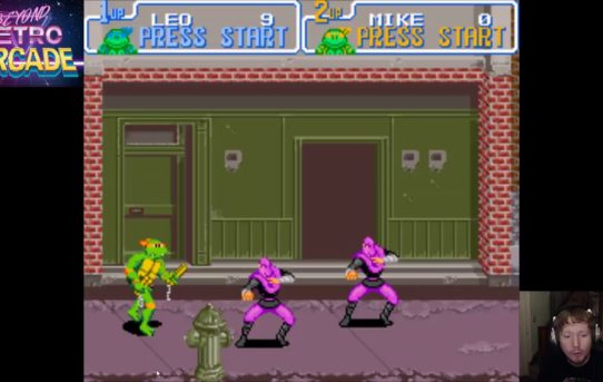 Beyond Retro Arcade - TMNT Turtles In Time