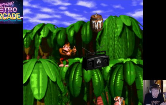 Beyond Retro Arcade - Donkey Kong Country