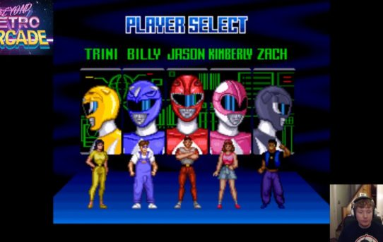 Beyond Retro Arcade - Mighty Morphin Power Rangers