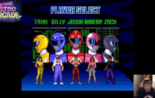 Beyond Retro Arcade - Mighty Morphin Power Rangers