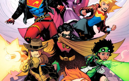 DC UPDATES COVERS FOR YOUNG JUSTICE #1