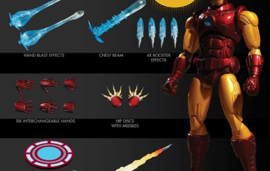 Mezco Toyz ONE:12 COLLECTIVE Iron Man