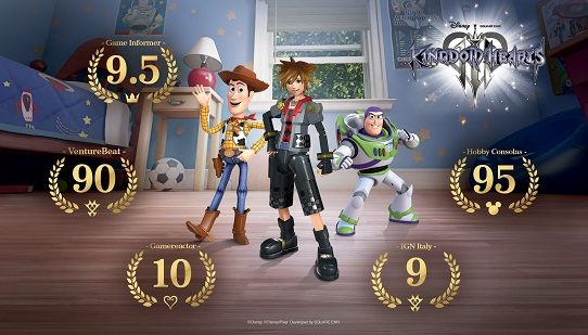 KINGDOM HEARTS III Now Available Worldwide