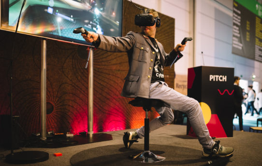 Take a Step Into Virtual Reality: Cybershoes GmbH Showcases Cybershoes®