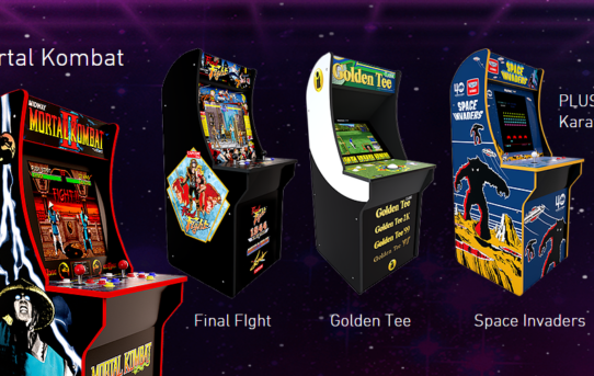Power up with Arcade1Up and its announcement of its new 2019 line