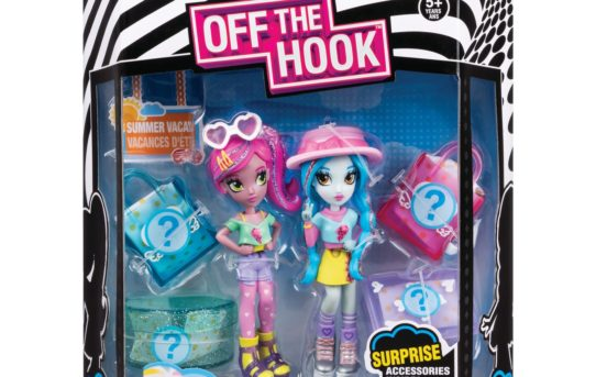 Spin Master Creates Off The Hook™ Customizable Fashion Dolls Fit for the Runway