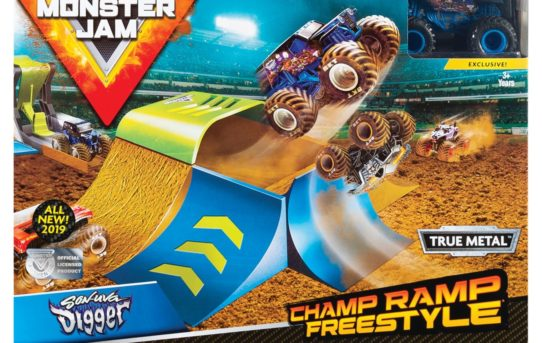Spin Master reveals new revved up Monster Jam® toy line
