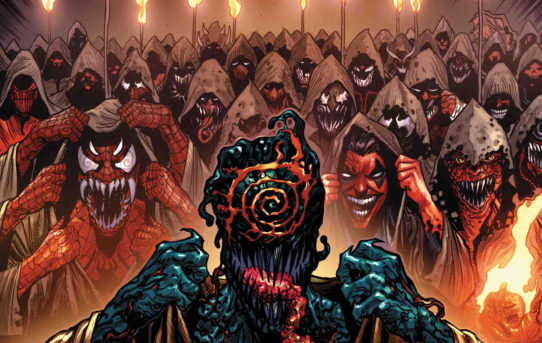 A Terror Rises in WEB OF VENOM: CULT OF CARNAGE #1!