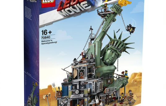 Largest LEGO Movie Inspired Construction Set Unveiled