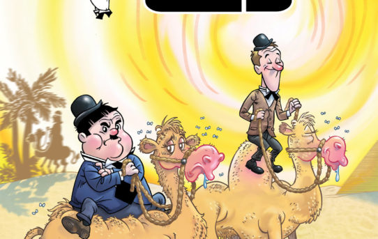 Laurel & Hardy Join American Mythology Comics!