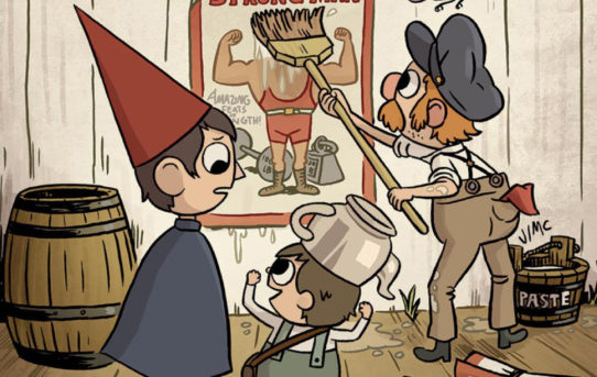 BOOM! Studios Announces New OVER THE GARDEN WALL Original Graphic Novel in October 2019