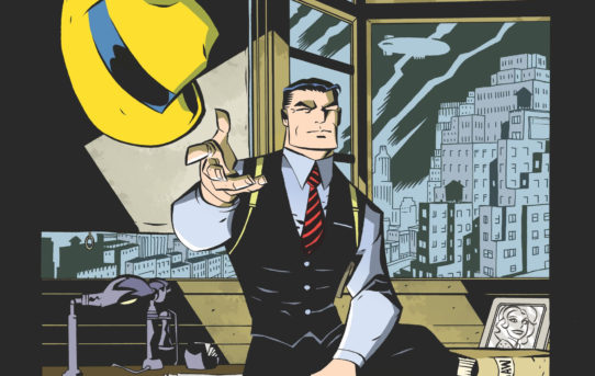 Michael Avon Oeming Leaves His Mark on DICK TRACY FOREVER