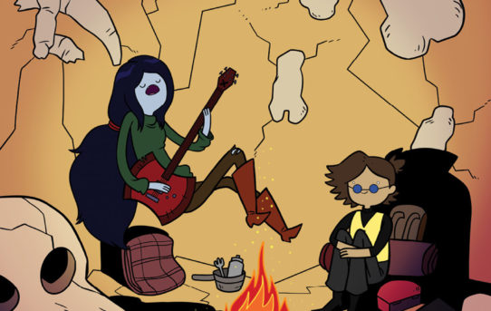 Your First Look at ADVENTURE TIME™: MARCY & SIMON #2 by Olivia Olson and Slimm Fabert