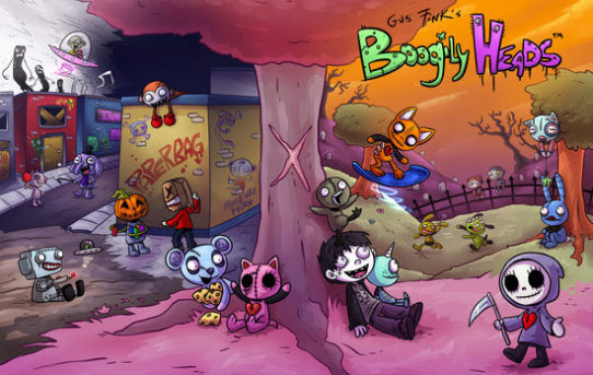 New All Ages BOOGILY HEADS Comic Comes to Devil's Due