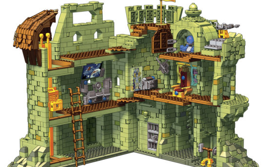 Masters Of The Universe Castle Grayskull Mega Construx Appears On Gamestop.com