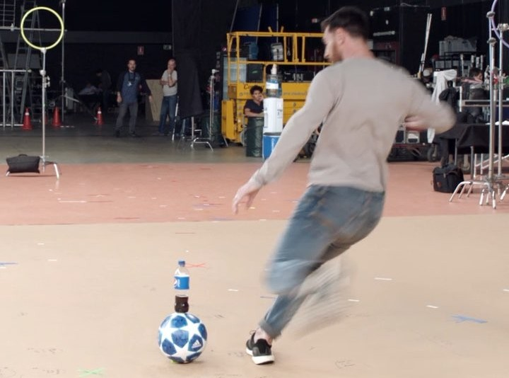 Leo Messi And Mohamed Salah Go All In For The Love Of Pepsi