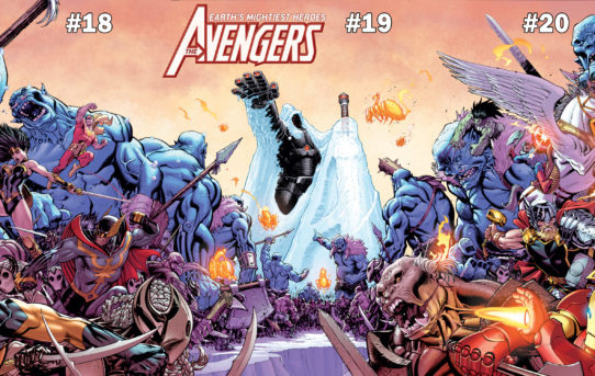 THE AVENGERS Join The Battle in WAR OF THE REALMS!