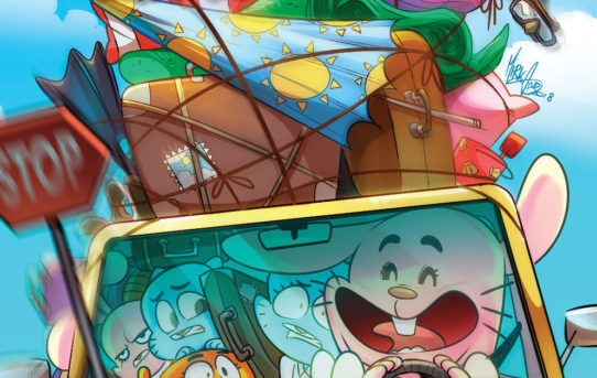 Amazing World Of Gumball: Spring Break Smash #1 Preview
