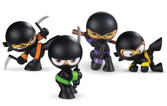 """Silent, Butt Deadly!"" Funrise To Launch Fart Ninjas™ Collectible Farting Figures"